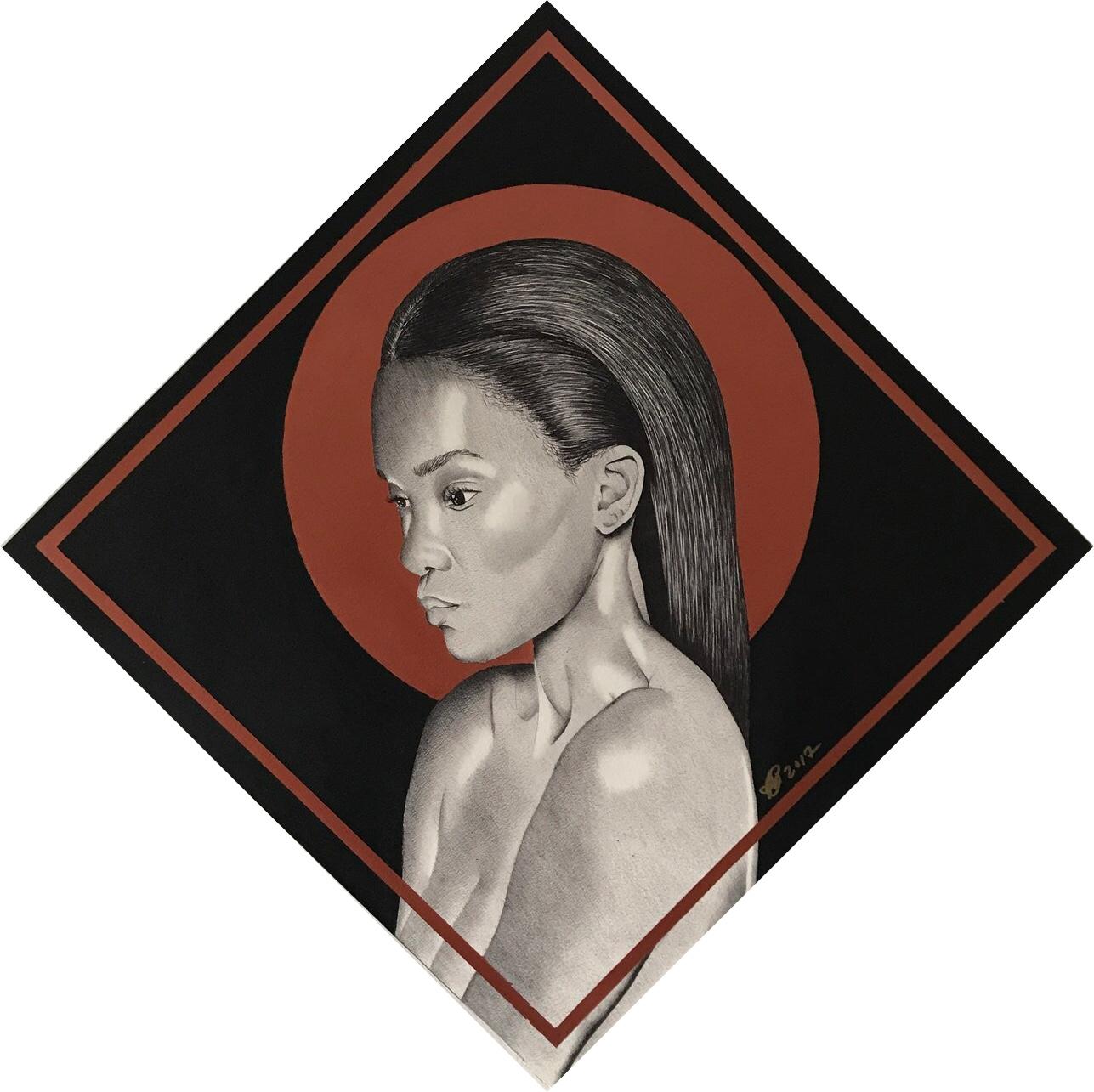 Portrait of a Black Woman.