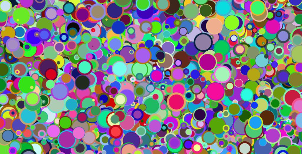 Generative art (so many circles)