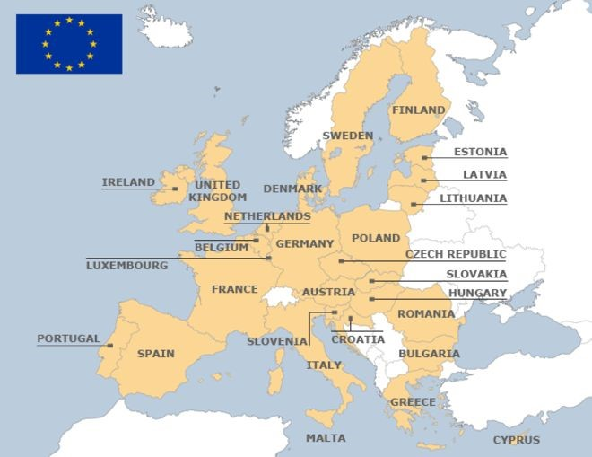 - The European Union's member states