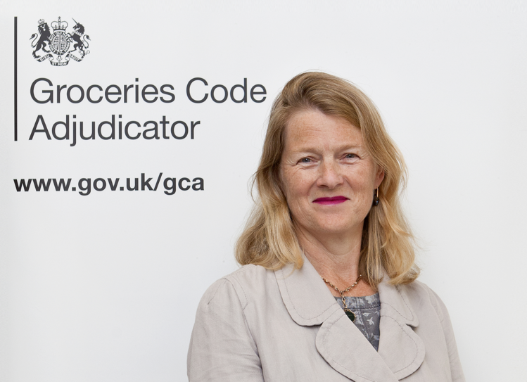 - Christine Tacon, the UK's Groceries Code Adjudicator