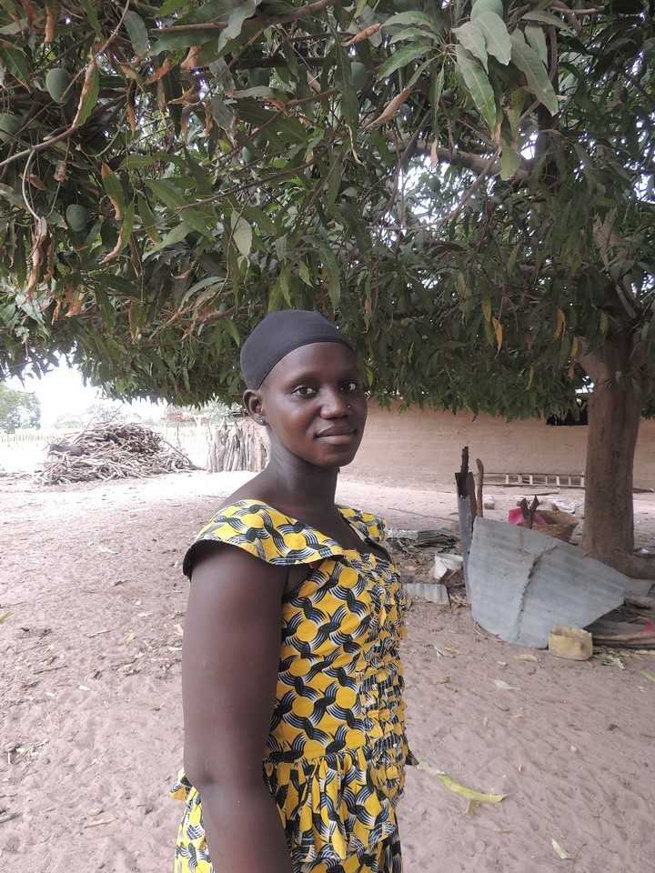 """They used to ask their father ""can we have shoes?"" and we had to say no...Now I can say yes"" - Yacime, Fruit Farmer, Senegal"