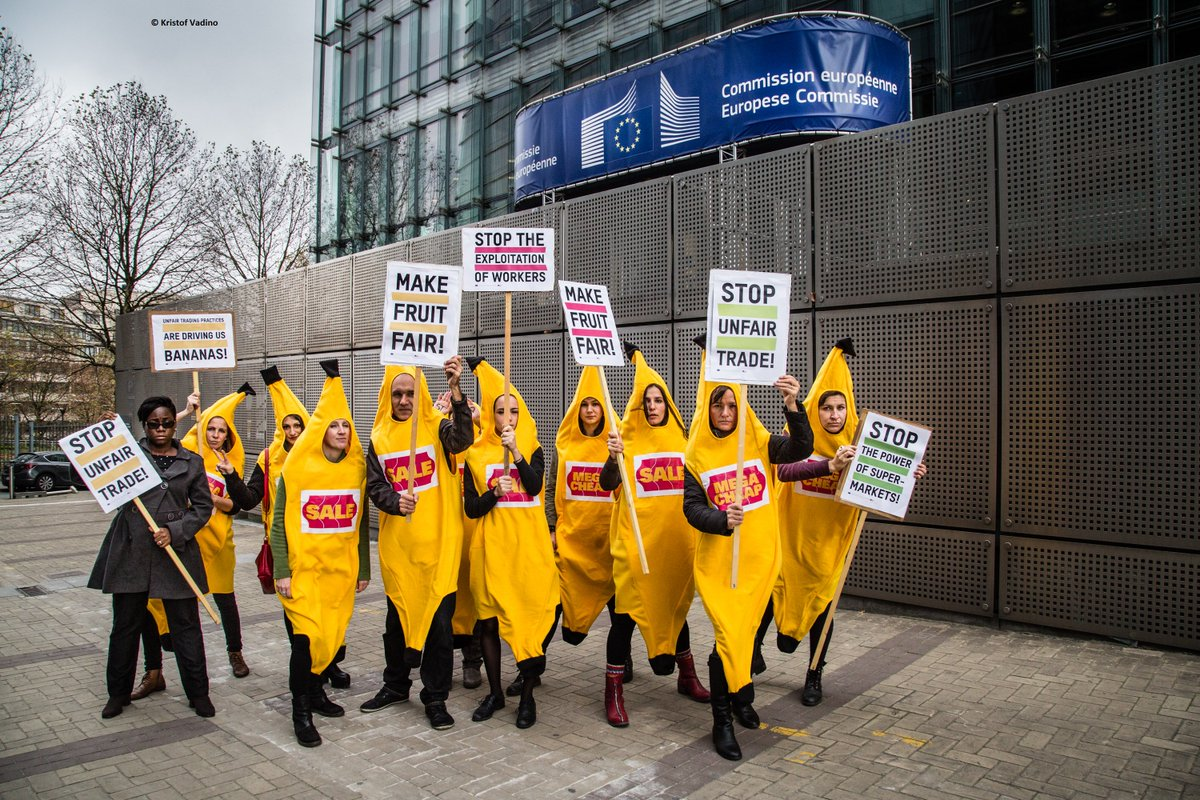 The Make Fruit Fair campaign was one of a number of initiatives focussed on curtailing the power of EU supermarkets
