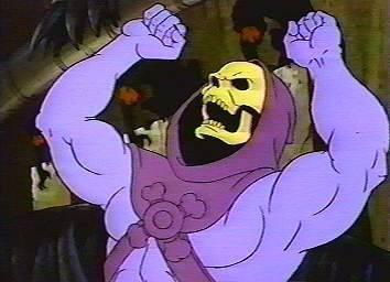 Skeletor also won't appear in the game, and has nothing to do with Hellboy. Dear god, please don't sue me, various IP owners.