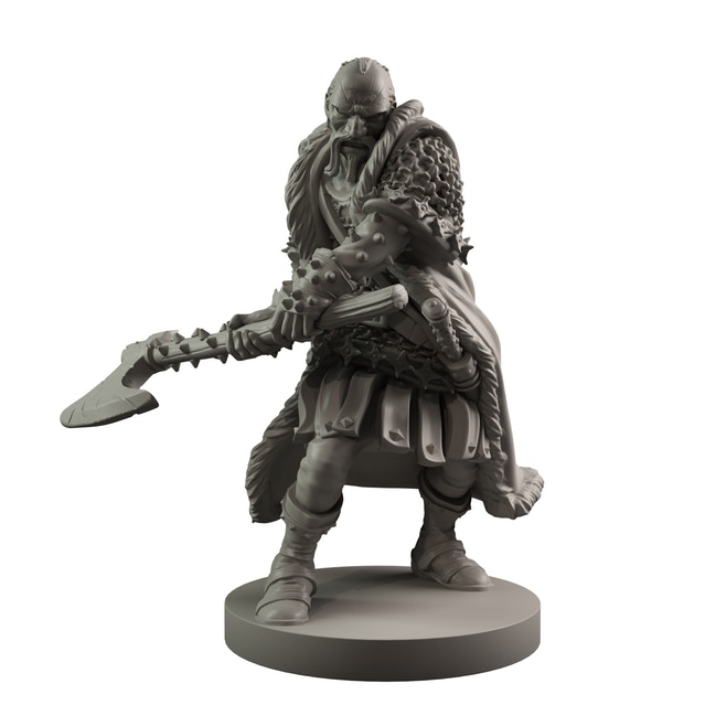 Really looking forward to seeing this guy on the table - I reckon he might find a few uses outside the board game, too!