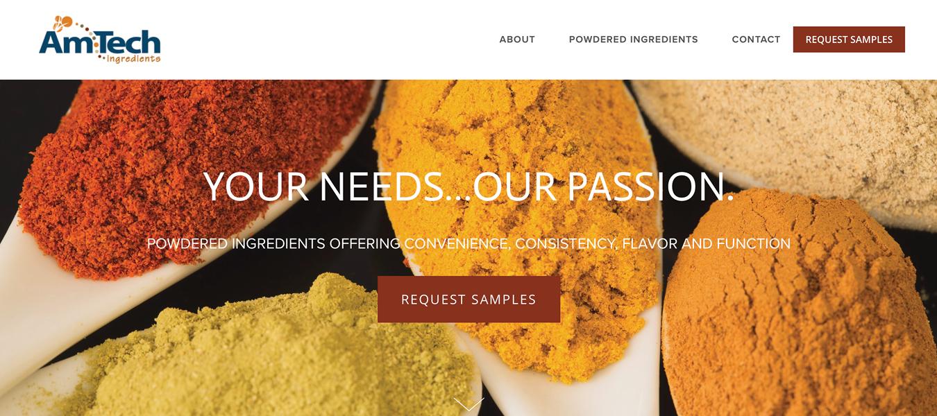 AmTech Ingredients 2-Week Marketing Refresh