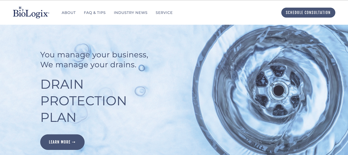Biologix Twin Cities Website Design by Mason Jar Marketing