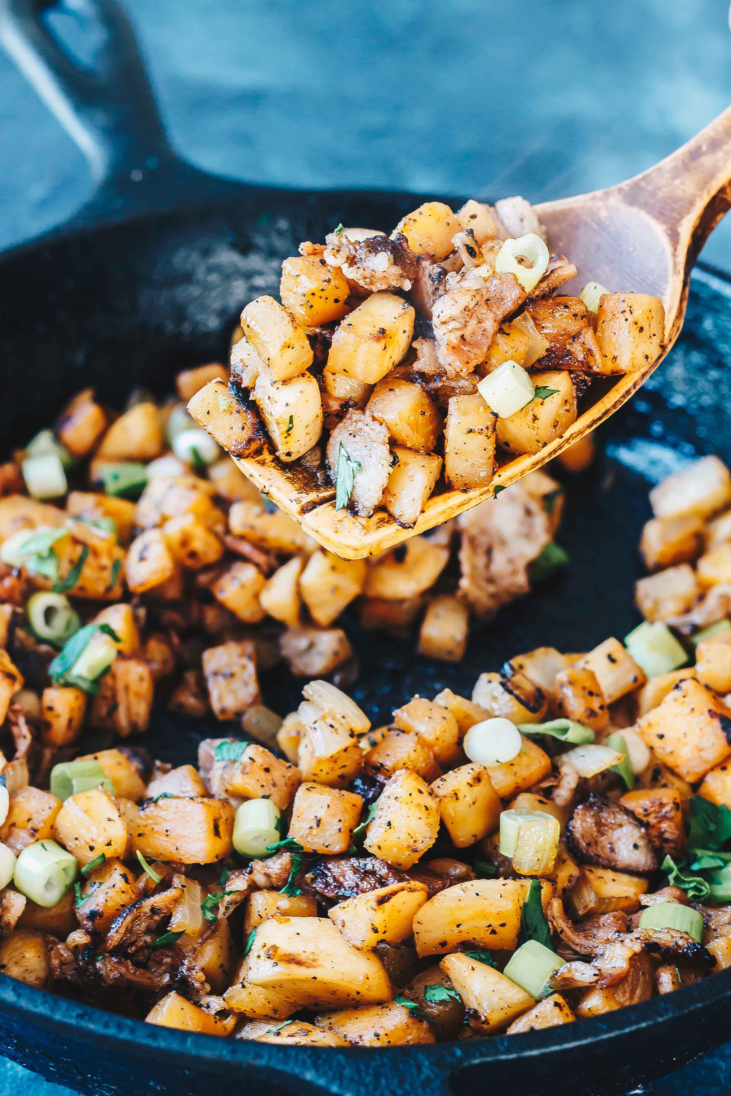 """Keto Breakfast """"Potatoes"""""""
