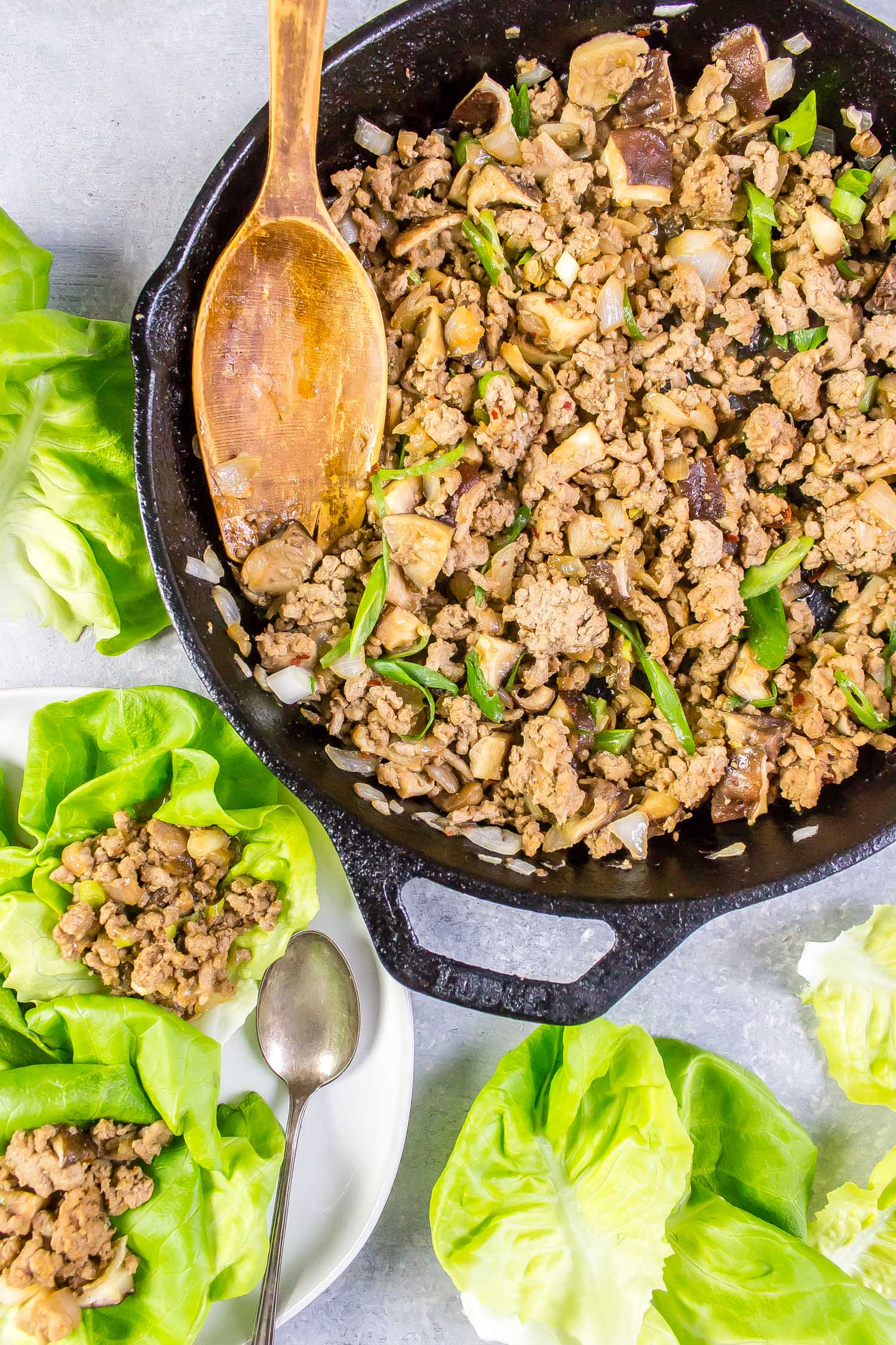 Keto Chinese Lettuce Cups