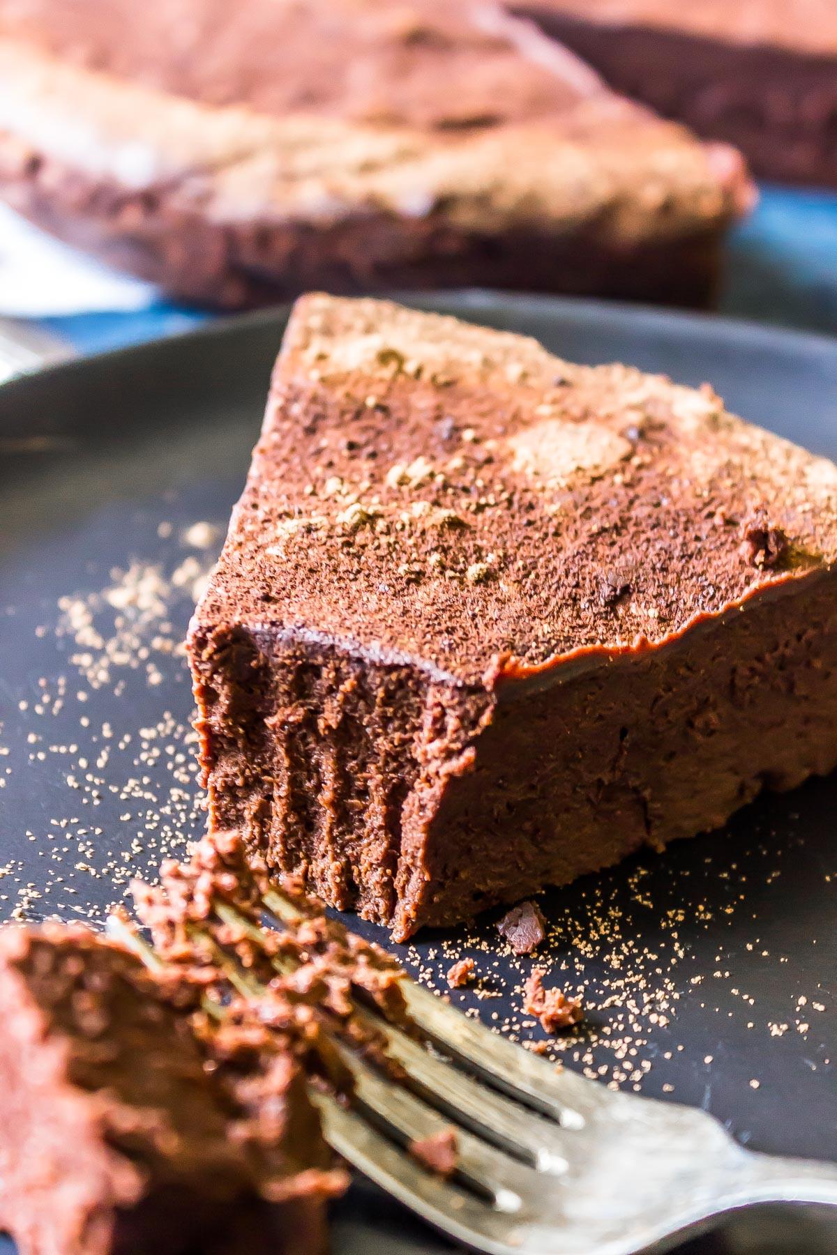 Keto Flourless Chocolate Torte