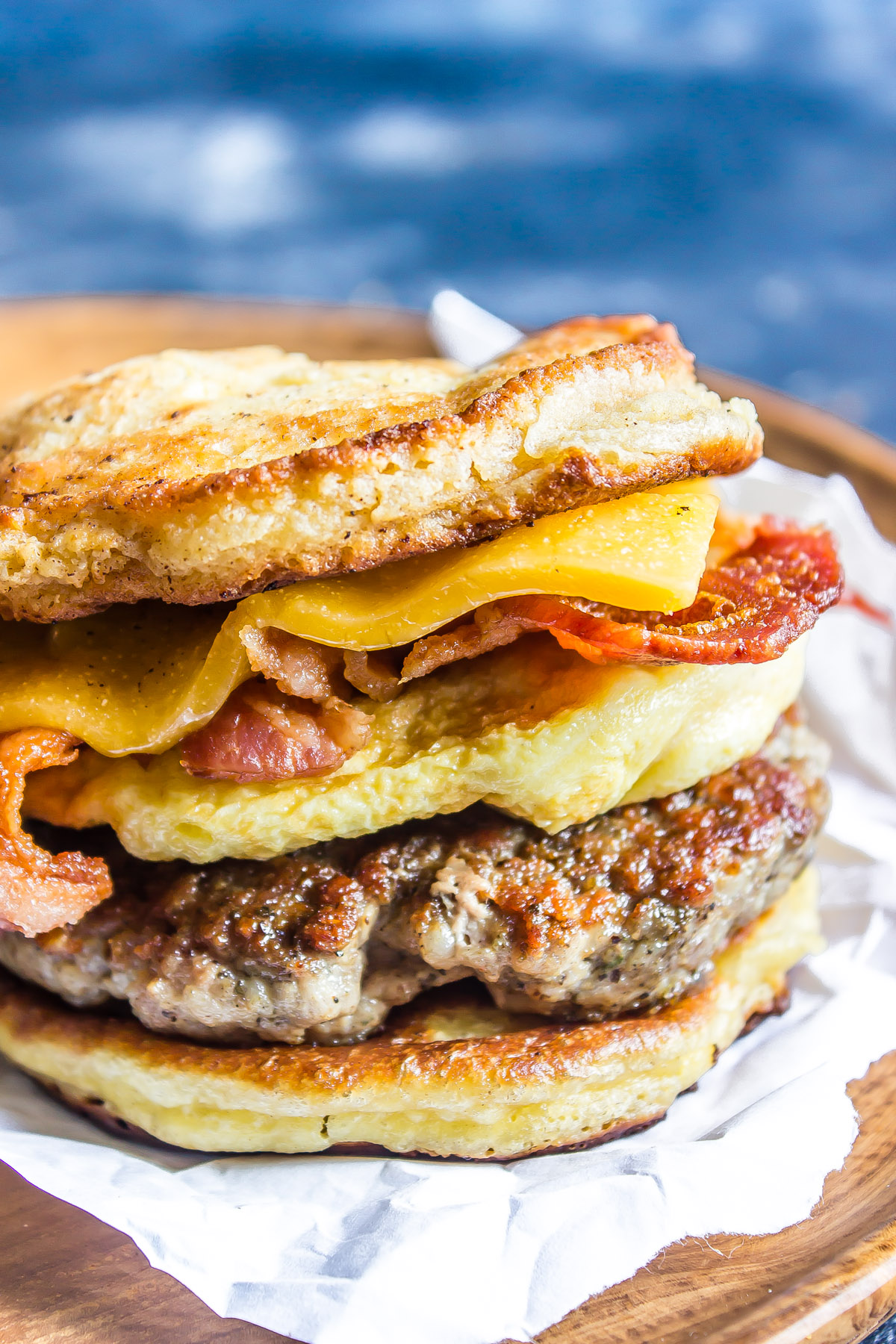 Keto Breakfast Sandwich - Copycat McGriddle_-2.jpg