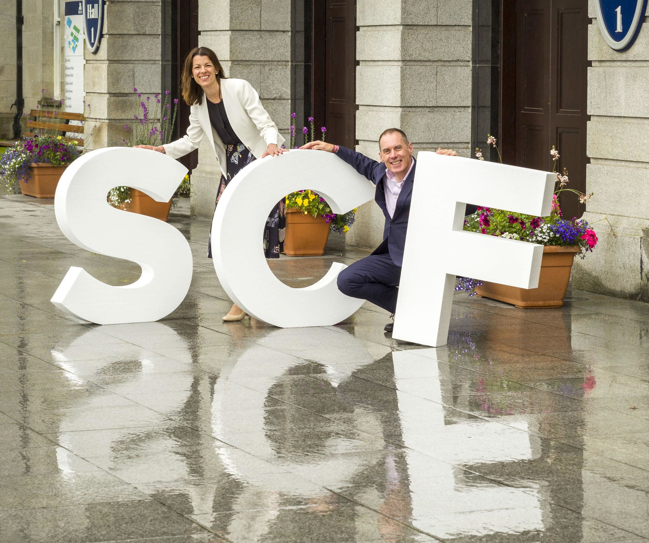 Pictured at the announcement of the 7th Secure Computing Forum that is taking place at The RDS in Dublin on Thursday, 12th September 2019: Roberta McCrossan, Group Marketing Director, DataSolutions & Michael O'Hara, Group Managing Director, DataSolutions.