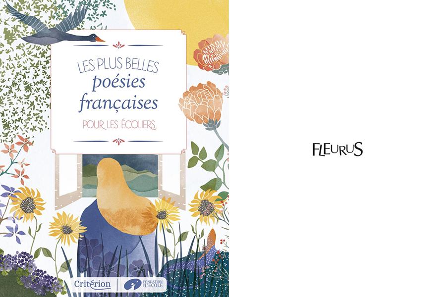 Les plus belles poésies francaises. catherine cordasco