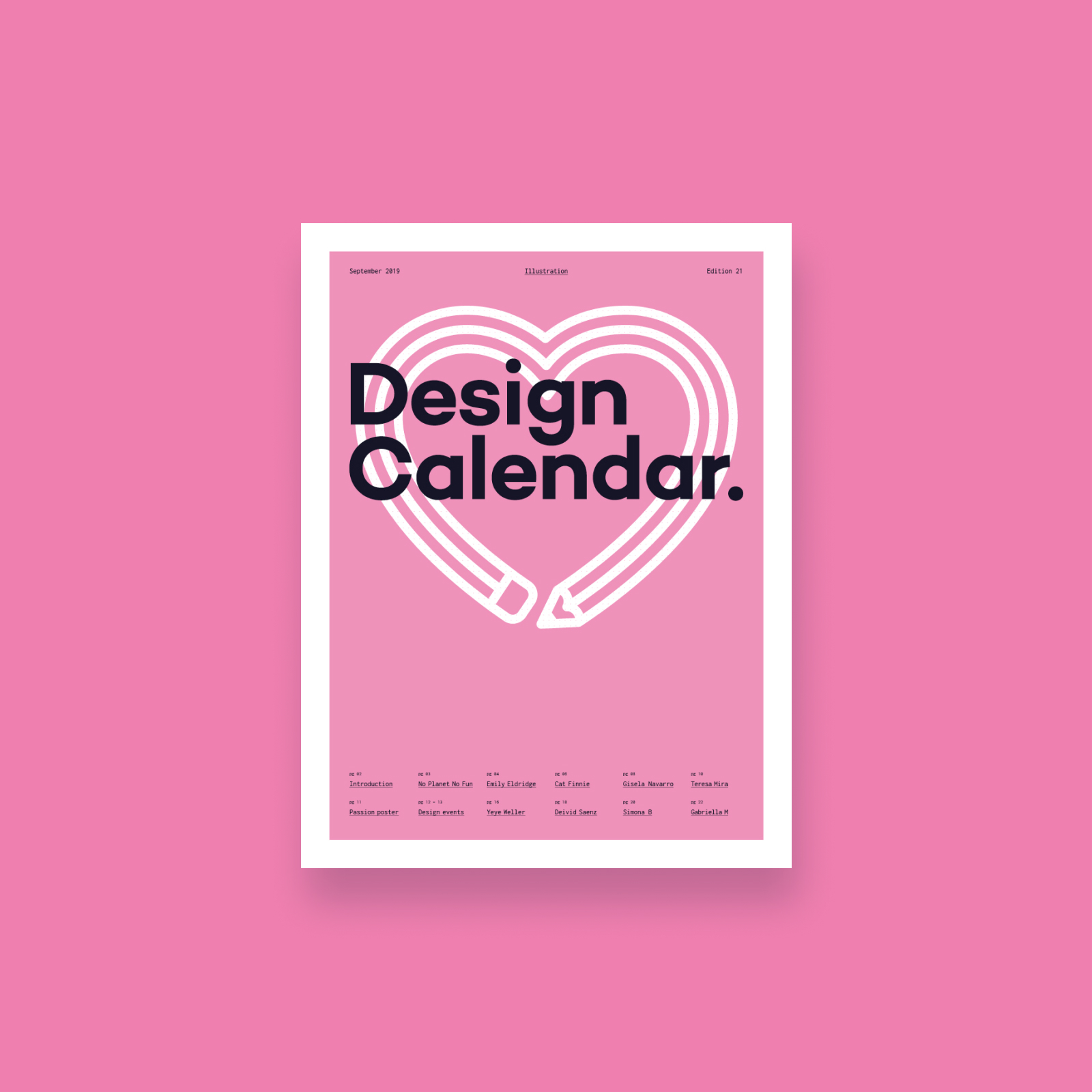 Design Calendar - September Edition