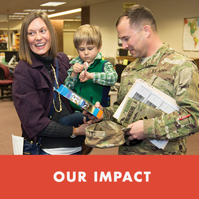 Experience how LPE directly impacts the lives of military families.  Watch the Video.