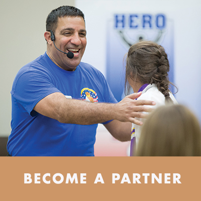 Have a heart for military families? Consider becoming a partner of our programs and events!