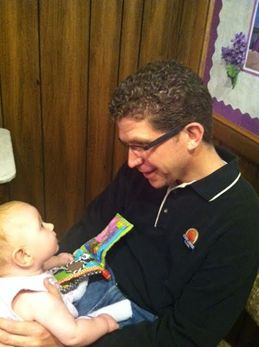 Banker meets Baby at a Financial Literacy Class in Hays, KS