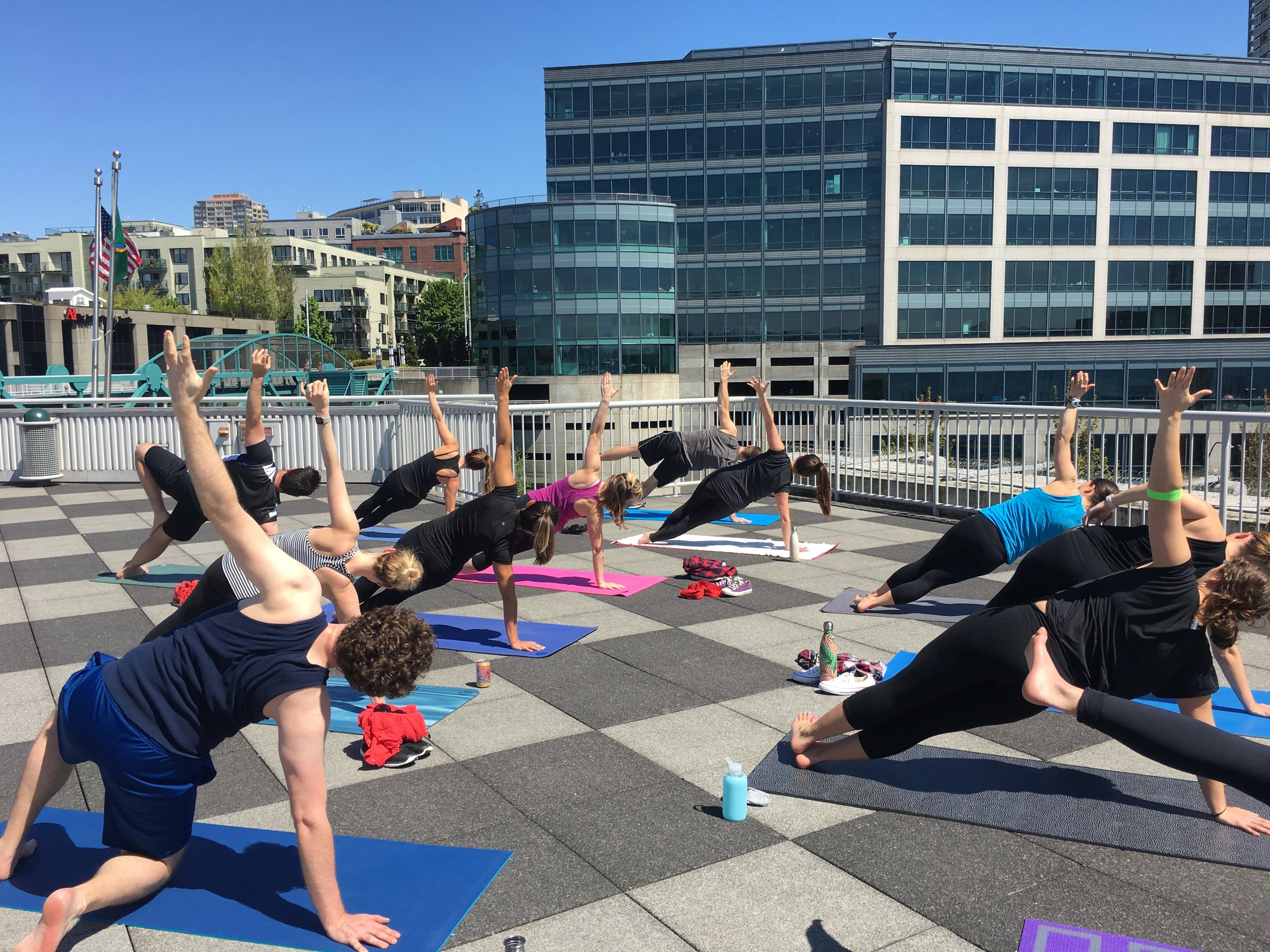 NW Corporate Yoga℠ at Work, Seattle, WA