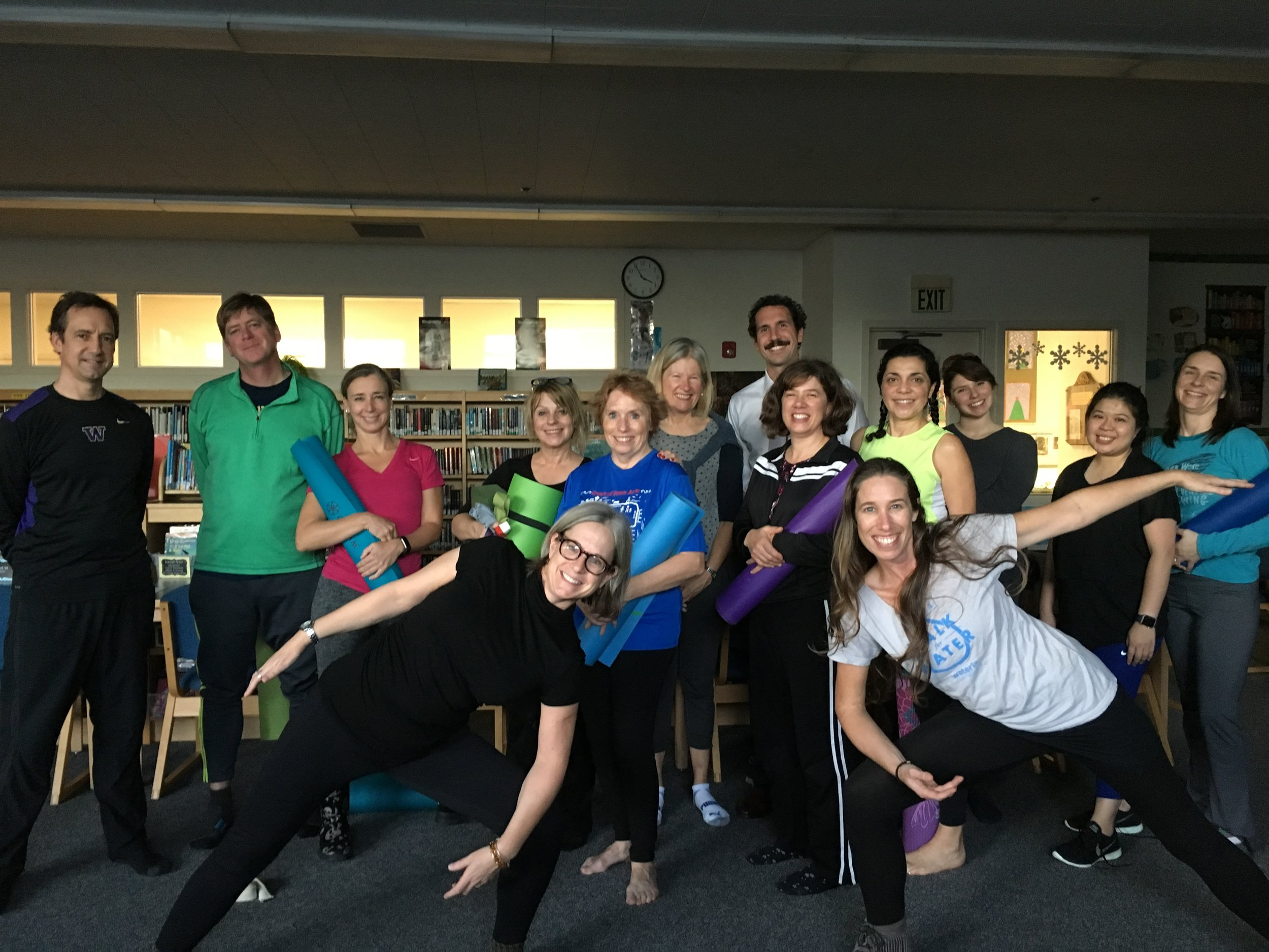 Wellness Workshop at a Seattle School
