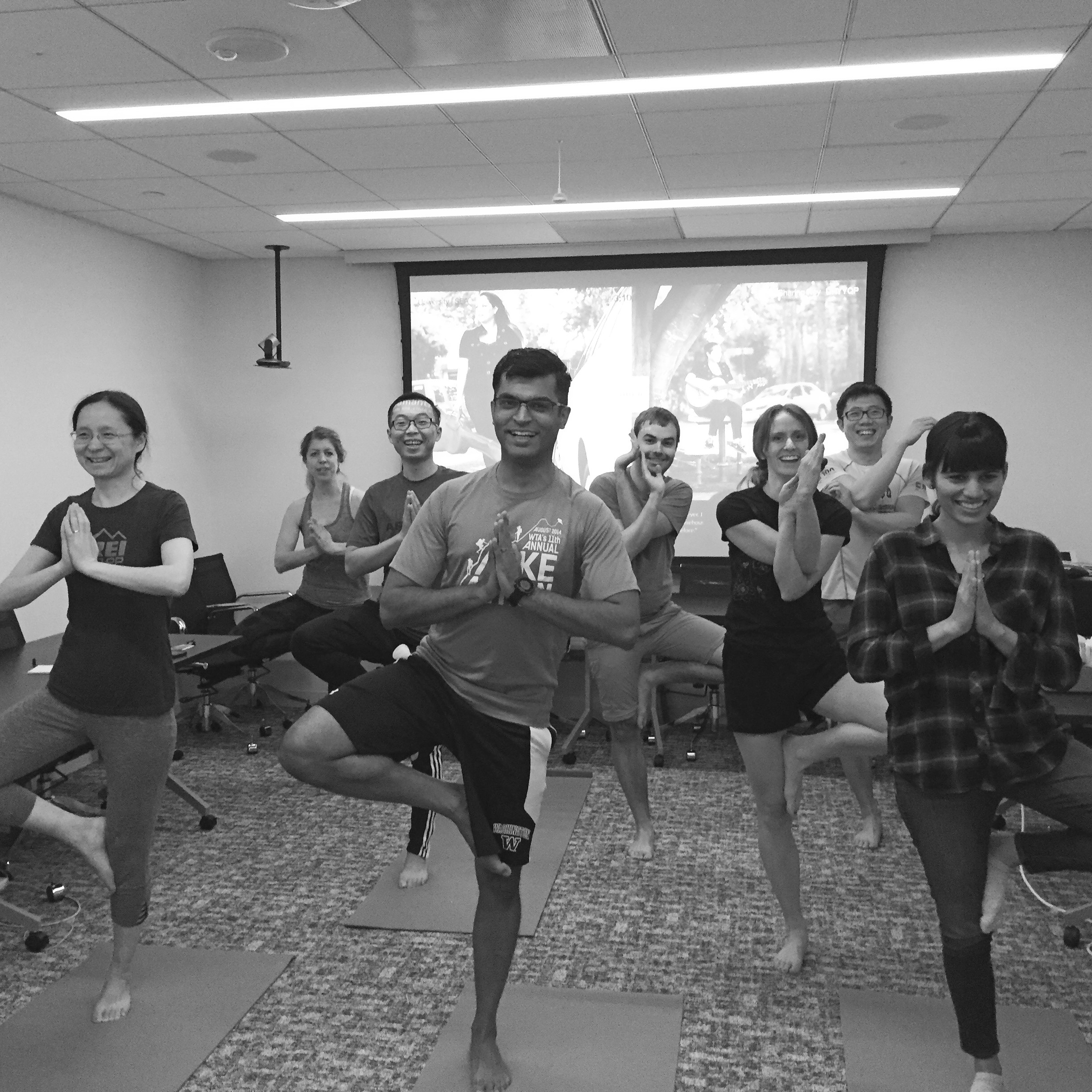 NW Corporate Yoga℠ in the Office!
