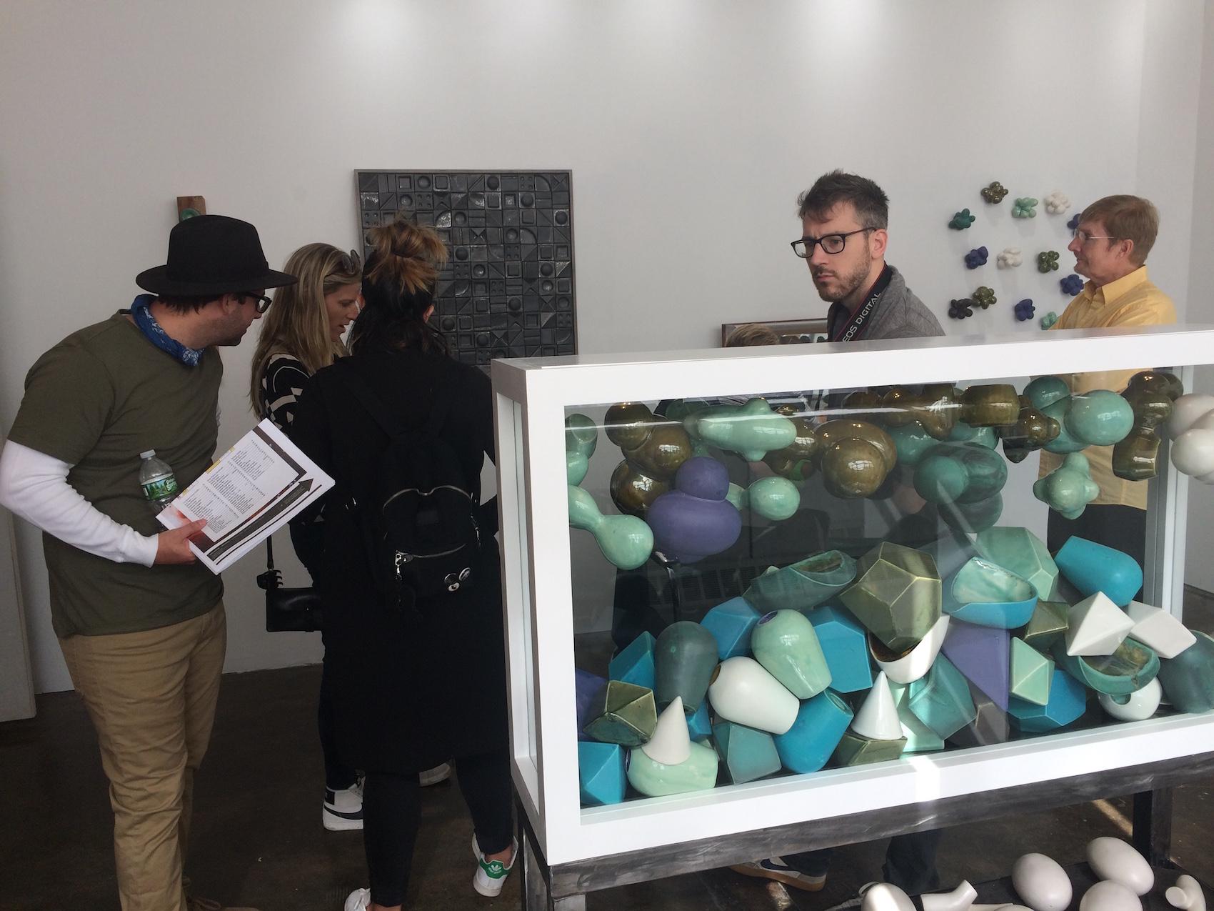 Art lovers visit studios during GOS 2016