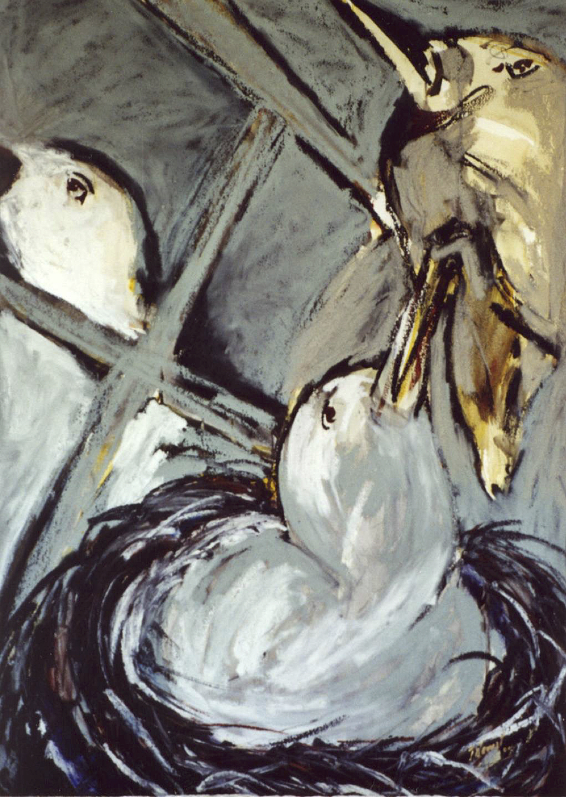 Nid d'oiseaux VI