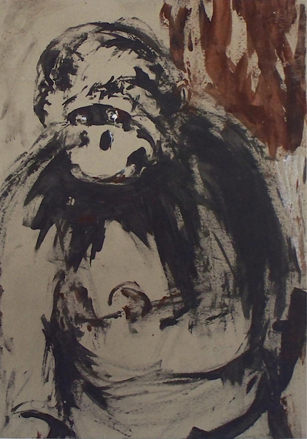 De la série «des gorilles et des hommes» 4