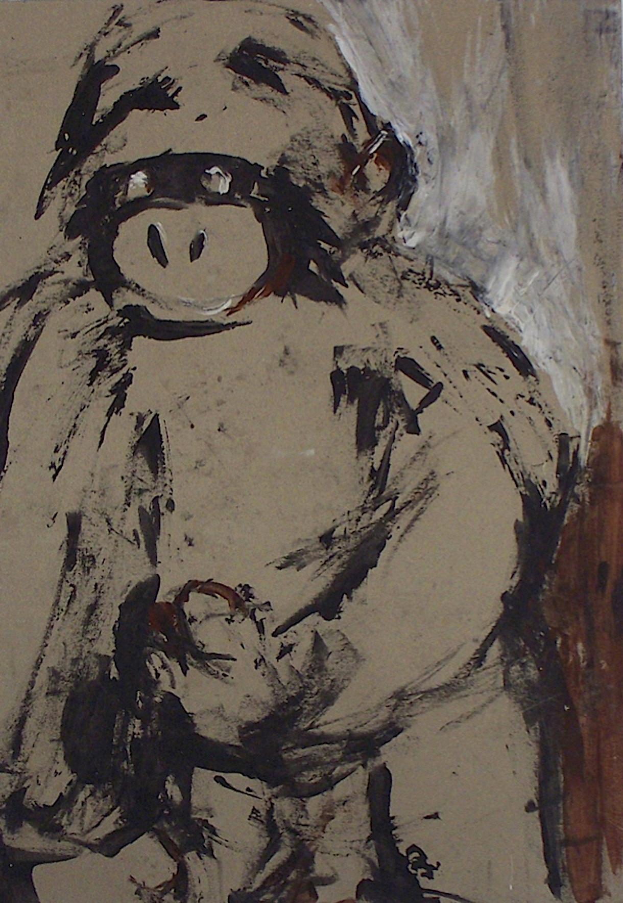 De la série «des gorilles et des hommes» 5