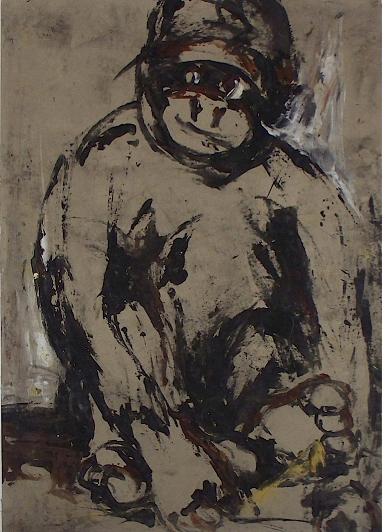De la série «des gorilles et des hommes» 7