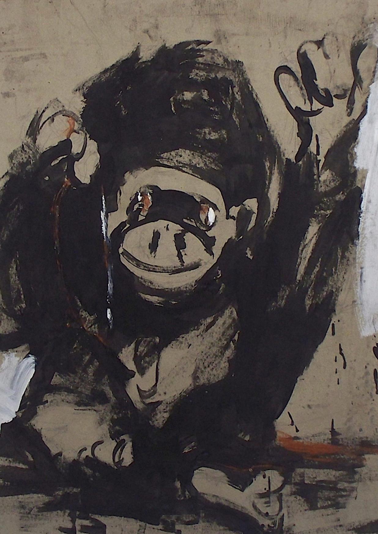 De la série «des gorilles et des hommes» 8