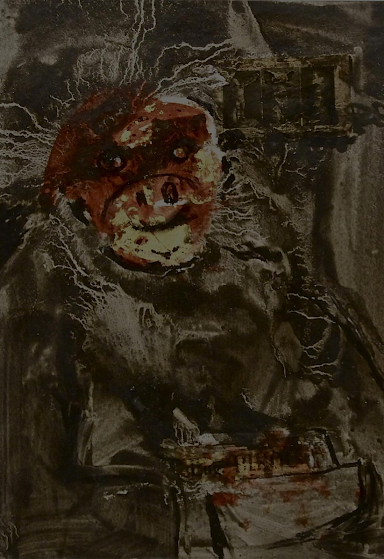 De la série «des gorilles et des hommes» 10