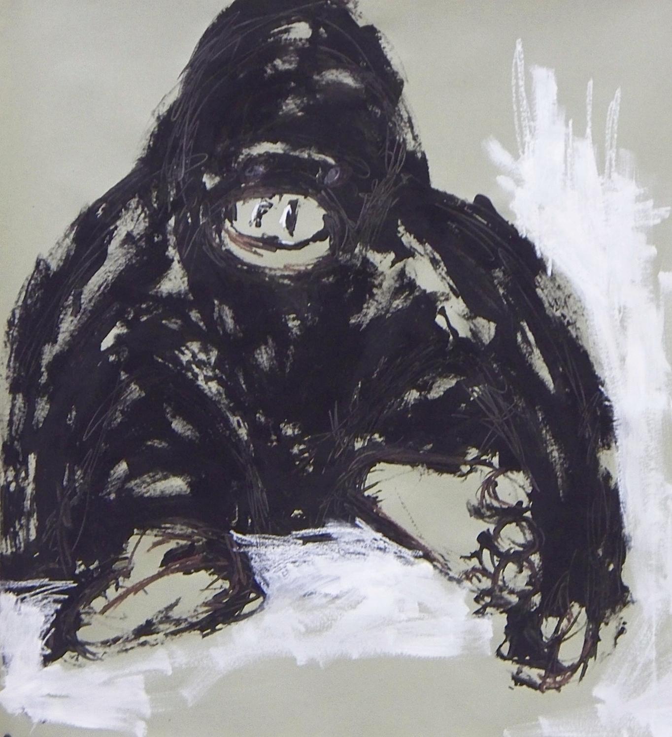 De la série «des gorilles et des hommes» 11