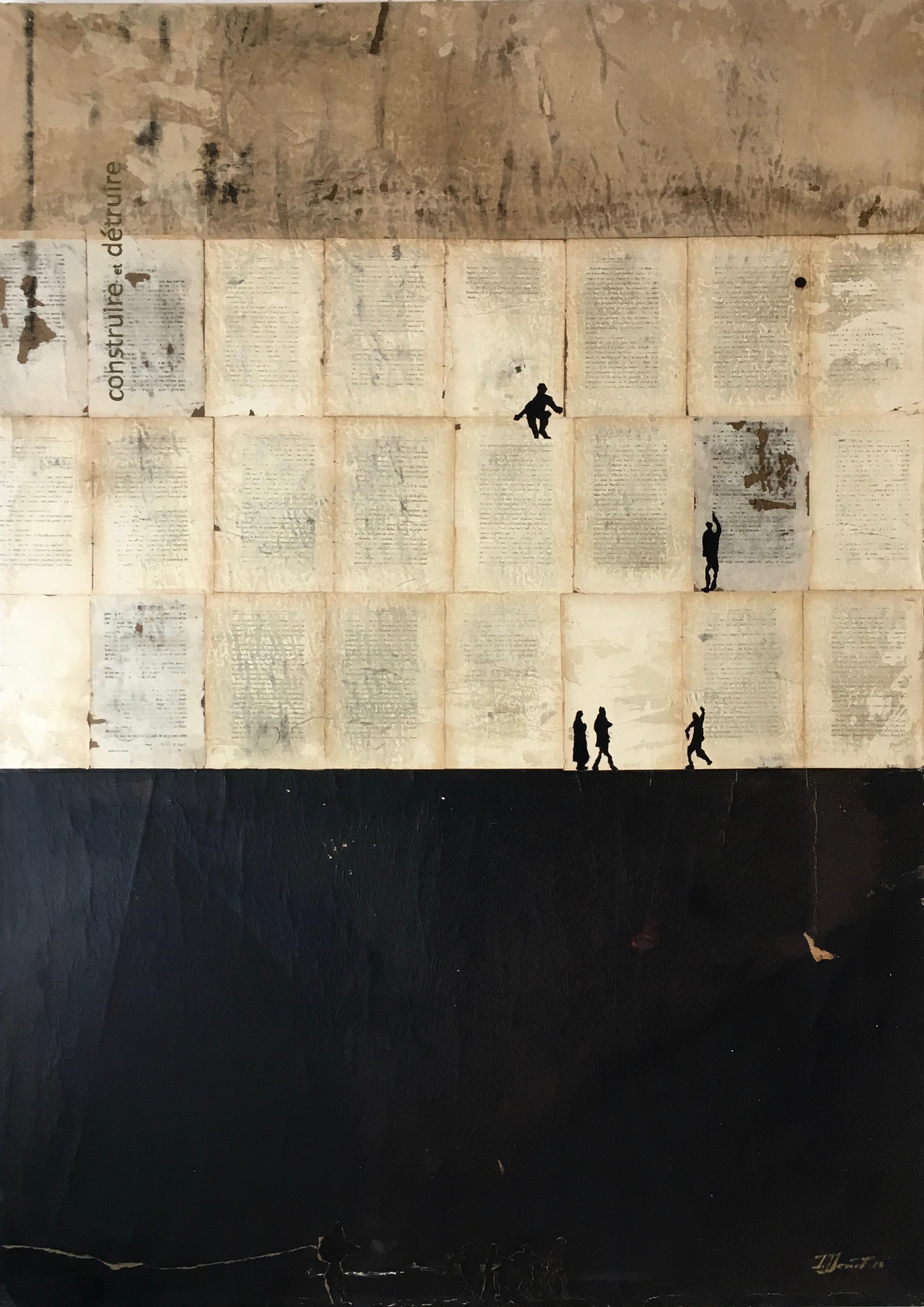 """Au coeur de l'exil """"Murs et écritures"""" /2"""