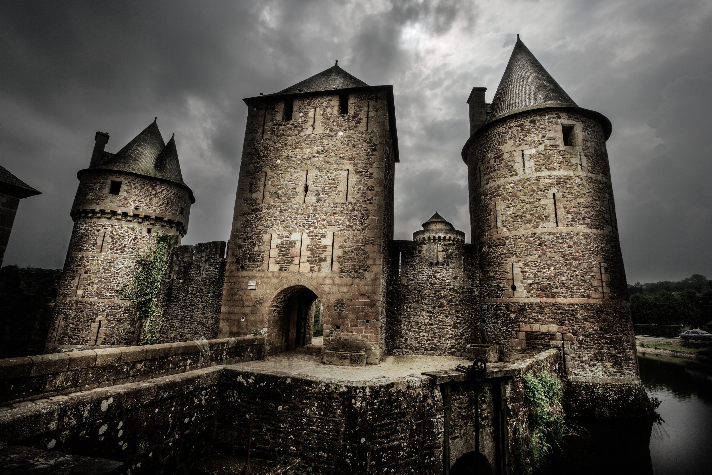Chateau Fougères, France