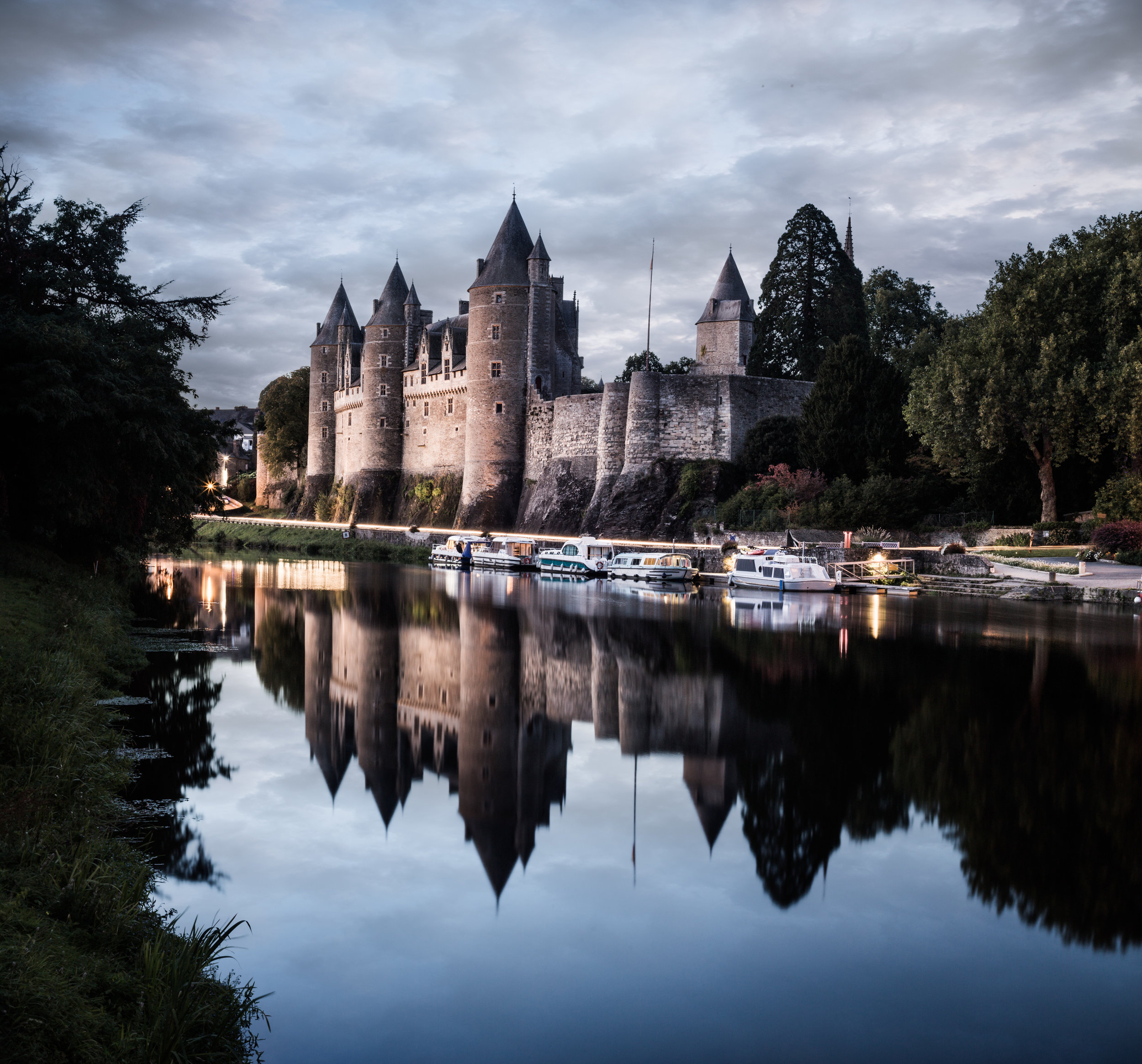 Chateau Josselin, France