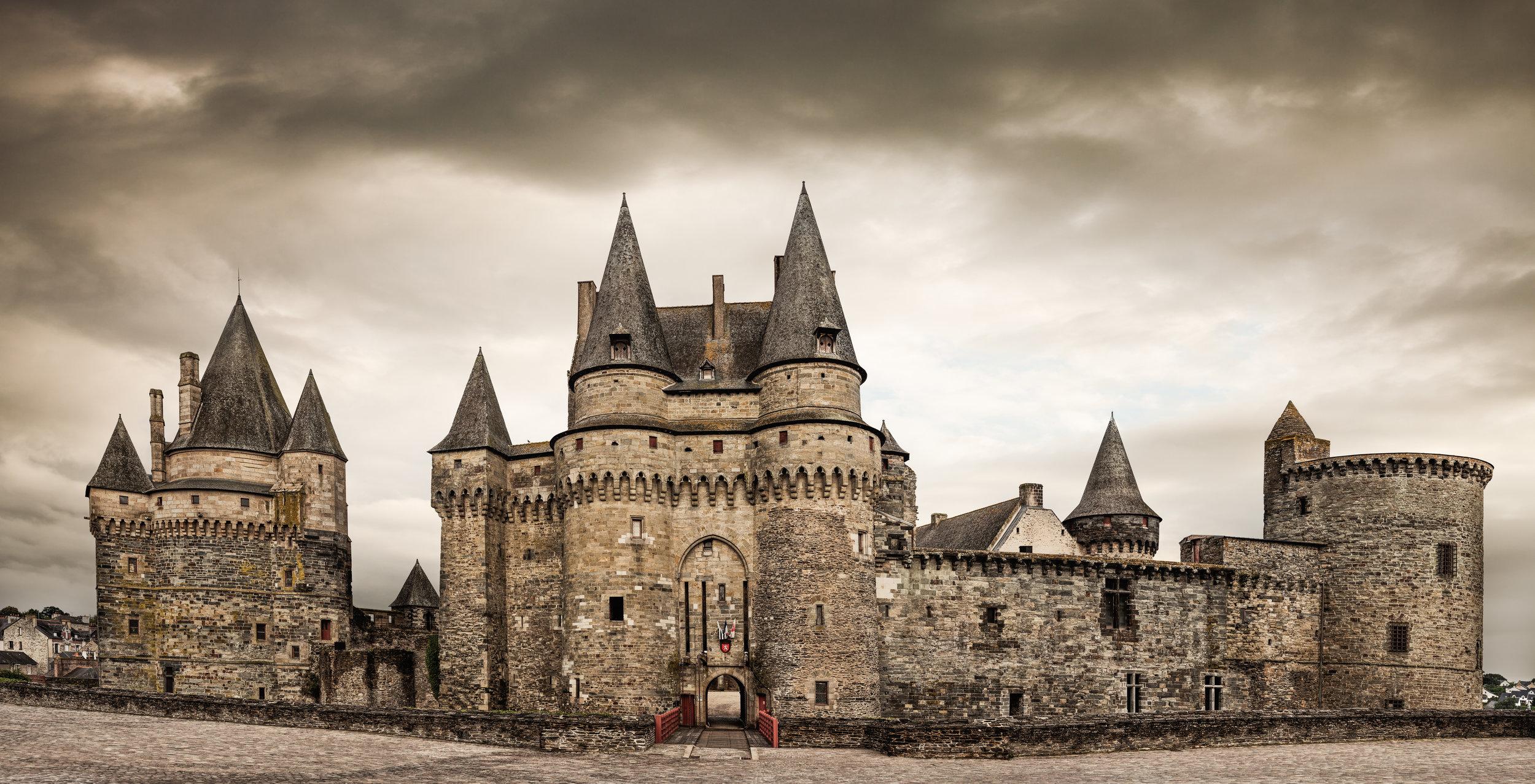 Chateau de Vitre, France
