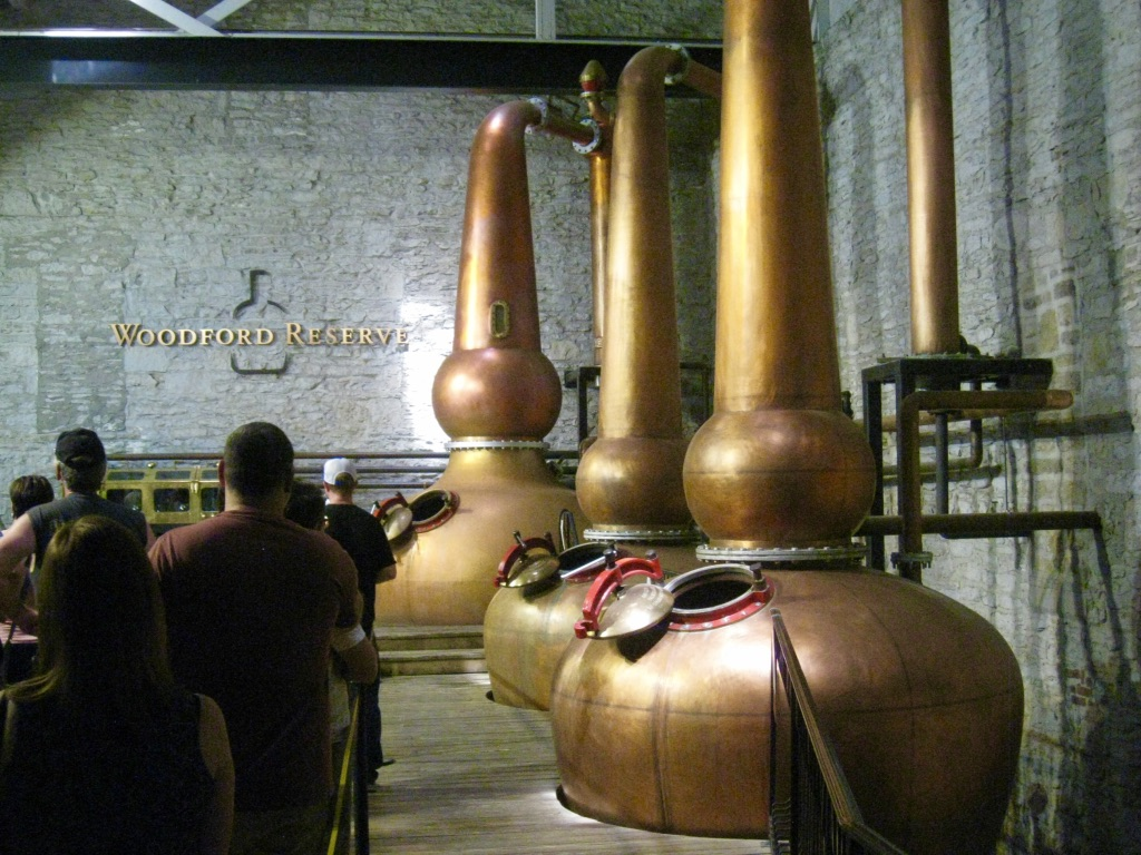 Copper distillers from the original family recipe. Photo Credit: Mike Mayer 2018