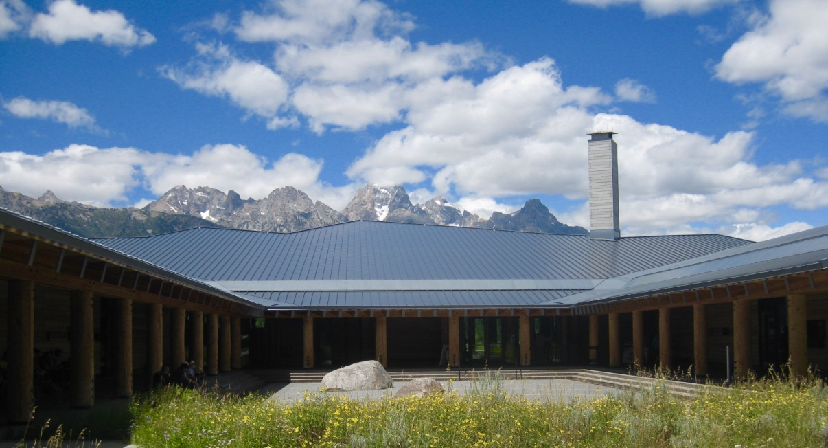 Photo Credit: Mike Mayer, Teton NP Visitor Center, July 2015
