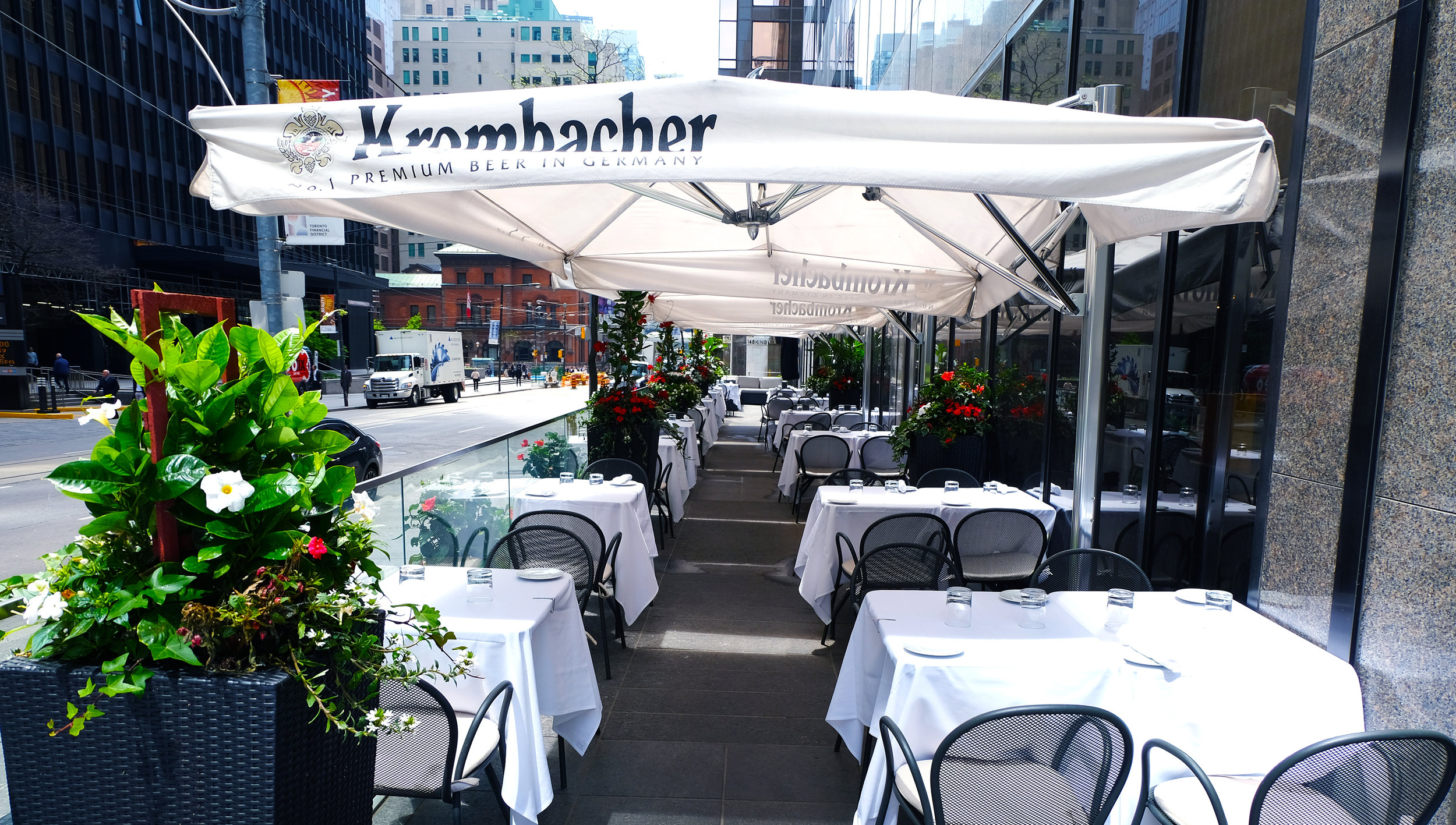 Patio - private & semi-private options available80 seated150 standing