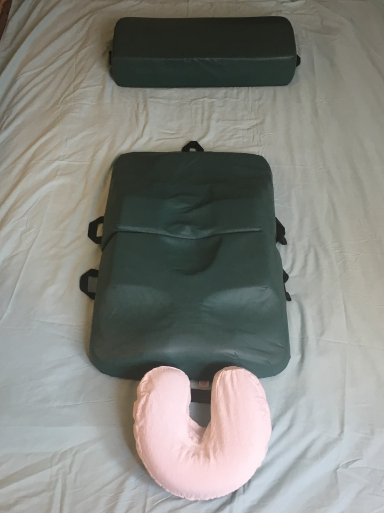 Body Cushion System pads used for your comfort