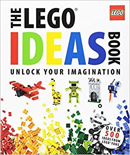 The Lego Ideas Book - $14.99The LEGO Ideas Book is a great way to unlock creativity! It encourages problem solving and time away from electronics! This is also good for parent/children bonding. The ideas are endless!