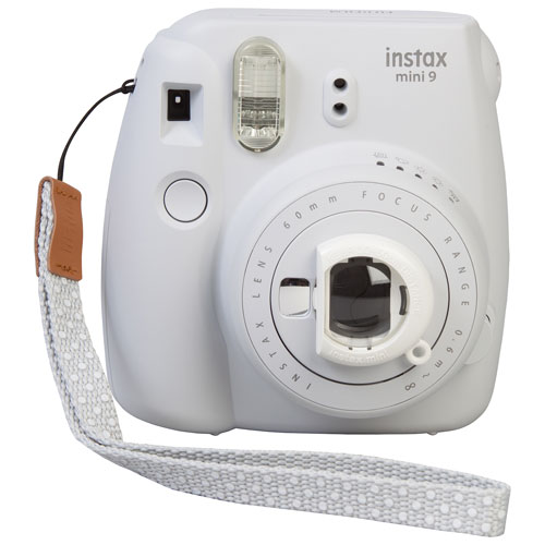 Instax Mini 9 - $69.99Whether you're planning a fun party with friends or you're seeking your next adventure in the great outdoors, capture life's special moments using the Fujifilm Instax Mini 9 Camera. This polaroid camera makes a great alternative to modern-day photography methods.