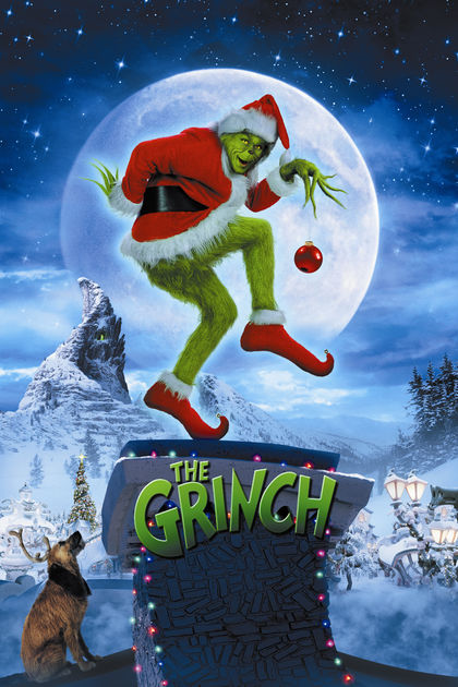 How The Grinch Stole Christmas - Jim Carrey brings the classic Christmas bedtime story to life! This adaptation brings something for the adult and child watching. This Christmas staple is available on Netflix, Youtube, Google Play, Amazon Video, and iTunes!
