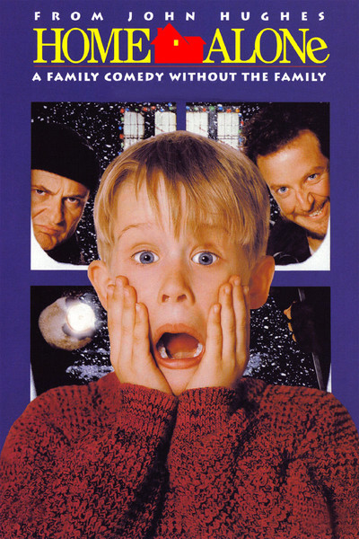 Home Alone - With 5 different movies, The Home Alone franchise is one of the most well known Christmas entertainment names. Focusing on an adorable kid in all 5 movies as they go through the holidays getting into everything and fighting off bad guys! You can get the 5 Home Alone movies in stores and on iTunes, Google Play, Amazon, Youtube, and many more!