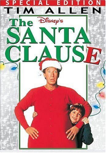 The Santa Clause - Tim Allen (AKA Tim the Tool Man Taylor) plays the leading role in this Christmas season comedy! It is pure cinematic gold! Perfect for family time by the tree on cold nights! You can see these movies on iTunes, Amazon, Google Play, and Youtube!