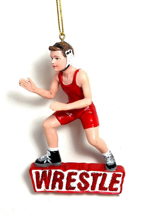 - Sports ornaments are extremely popular too! Mark Jolcover, Momentum's Community/Outreach director, has a wrestling ornament as his favorite! Along with ministry, Mark has wrestled for a long time and he is currently a wrestling coach for a high school team!