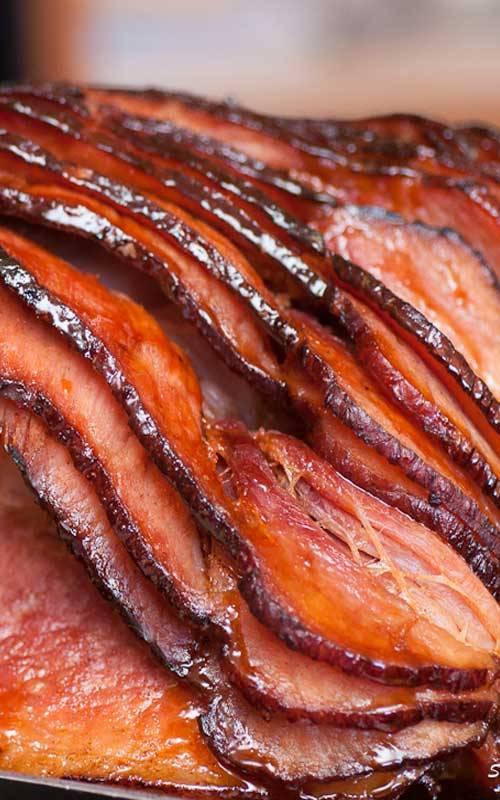 Honey Glazed Ham -