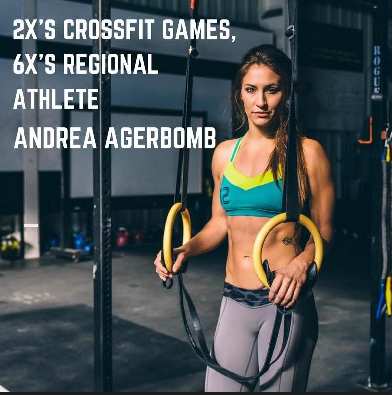 - Andrea Agerbomb will be hosting the 2 separate back to back seminars.......Two Day Workshop Saturday Sept 29th, and Oct 6th from 10-12pm @CrossFit Kingsboro#1 - HANDSTAND WORKSHOP - 9/29 AthleteSIGN UP HEREMindset Talk (mental game, workout strategy)Handstand Push-Ups, Handstand walking, Handstand Holds#2 - SNATCH & MUSCLE-UP WORKSHOP - 10/6SIGN UP HEREGoal Setting (Open scores, ranks, local competition)Snatch, Ring muscle-up transition, Efficient cyclingTake advantage of the EARLY BIRD SPECIAL$75 per workshop or $140 / 2-part series ($10 savings) early bird if you register before August 15th 2018EARLY BIRD SPECIAL BOTH WORKSHOPS https://www.conquestevents.net/events/agerbomb-gymnastics-workshop-at-kingsboro-crossfit-handstand-workshop-and-snatch-and-muscle-up-workshop/details