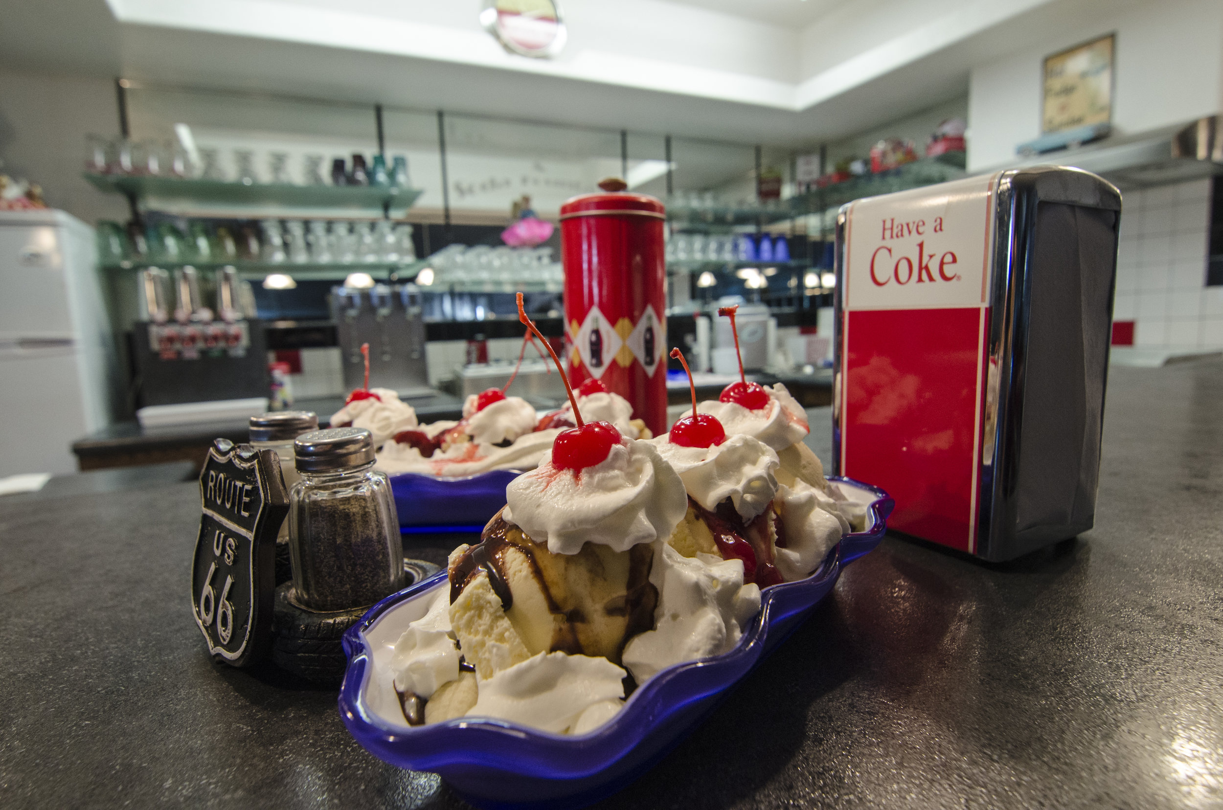 DESTINATION - A field trip to the local 1950's Soda Fountain!
