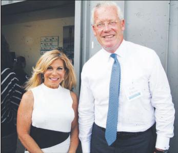 Cheryl Fiandaca & Thomas O'Brien Courtesy of East Boston Times- Free Press