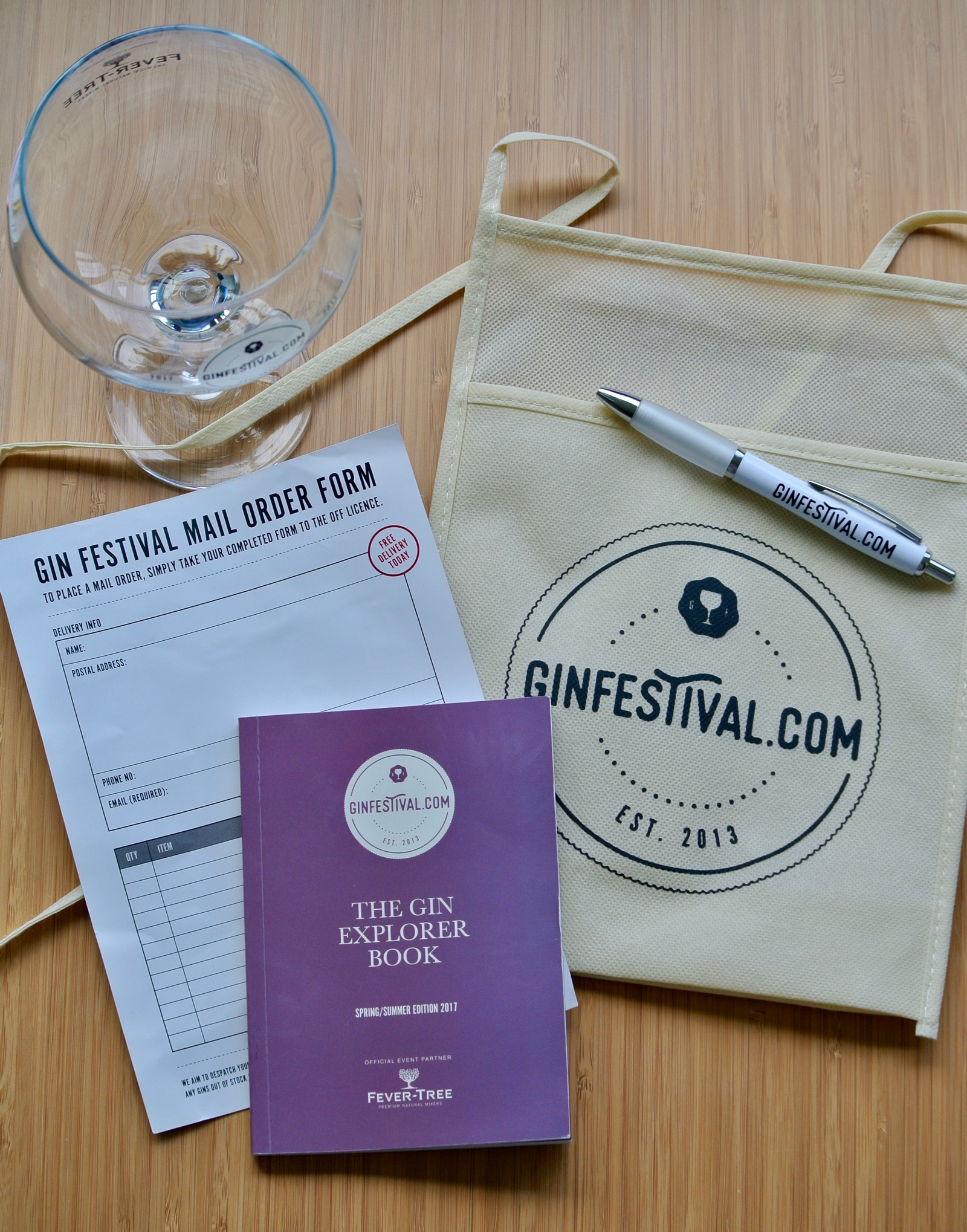 Gin Festival Coventry - Gin Festival Explorer Kit